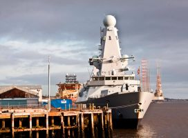 Destroyer HMS Duncan VI by DundeePhotographics