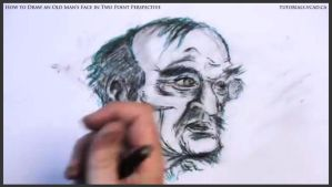 Draw An Old Man's Face In Two Point Perspective 40 by drawingcourse