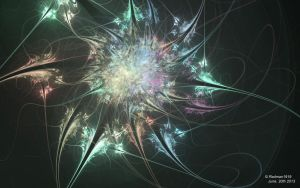 Fractal Wallpaper StarBurst by Radman1919