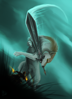 The One Left Behind by Lyiba-MoonEyes