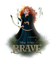 Merida - Brave 01 by Nippy13