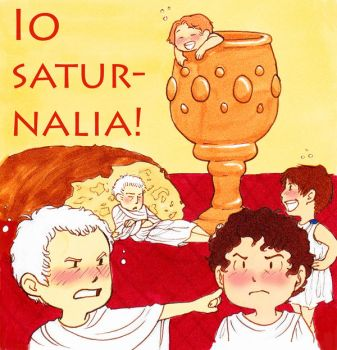 A Tiny Romans Saturnalia by explosive-toaster