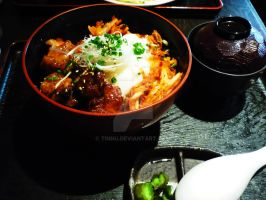 My first lunch in Japan by Tinnu