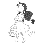 Special doodle - Dorothy Gale by SymbolsWriter