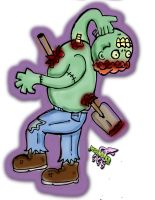 Braind Zombie by FX-Moonster