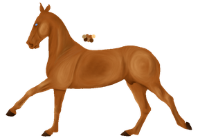 Buckskin Canter by Seraphiima-Stables
