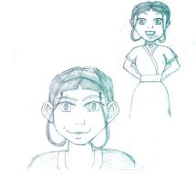 ..:Katara Sketches:.. by violetdawson