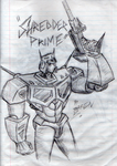 Shredder Prime by magigrapix