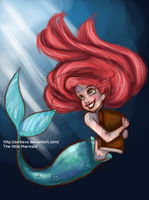 Ariel The Little Mermaid by Zarkava