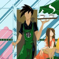 Starbucks Boi by DarkLacuna