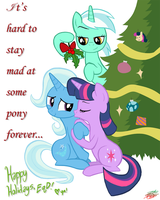 Mistletoe by WillDrawForFood1