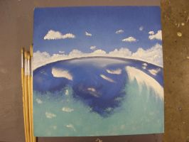 1 foot Square Entry- SeaScape by Song64