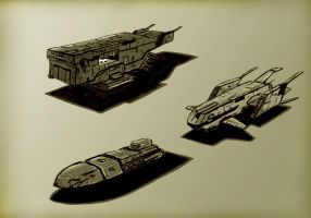 Spaceship sketch 2 by Max-CCCP
