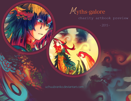 Myths-Galore charity artbook preview by uchuubranko