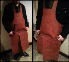 Metalworker's Apron by LoopyWolf