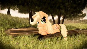 Applejack by mrPudding701