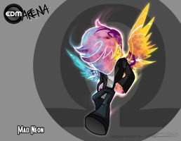 EDM Arena Challenger Revealed: Mad Neon by Nanaga