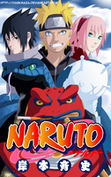 Naruto Cover 66 by DarkMaza