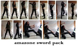 Amazone Sword Pack by Dragonball-Stock