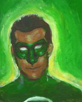 the green lantern: hal jordan by LuLuLiore