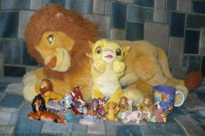 My lion king stuff June 2011 by ZiraLovesScar
