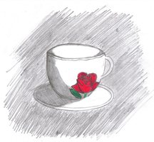 First drawn DA-teacup by lantern77