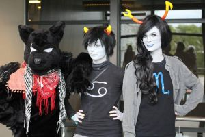 SVS-Con 2014: 'Sup Homestuckers? by CandyCornFields