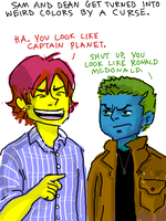 WINCHESTERS CURSED by thehaydenclone