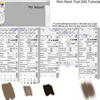 Mini Paint Tool SAI Tutorial by lNeliel