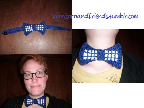 T.A.R.D.I.S. Bowtie by Ambrosial-Wolf