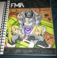 FMA Fanart 1 by DrawnVirus