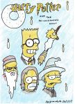 The Simpsons in Harry Potter by grimsdyke