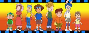 Elwood City DigiDestined - Digimon Adventure (REQ) by Vederick