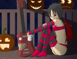 Lucia Halloween Pic by SuperLlama