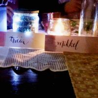 Place Cards Calligraphy 6 by jpaul