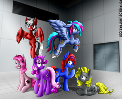 CRISIS: Equestria - Mean 6 (Final Version) by P0NFIR3