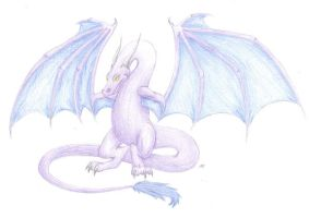 Colored Posing Wyvern by WyvernFlames