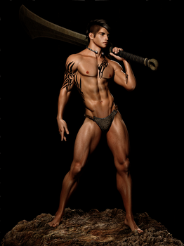 The Barbarian by Aniwayalone