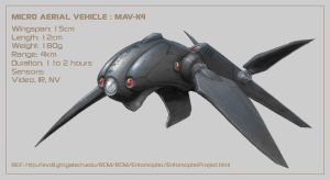 Micro Aerial Vehicle by Aerythes