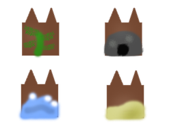 Clans of the Cove symbols by TwilightthePony23