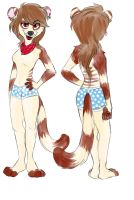 Ari's anthro furry reference by ARl-CAT