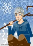 Snowflakes Jack Frost (RotG) by TairiRay