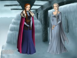 Game Of Frozen Thrones by PrincessJ420