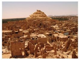 Top view for Siwa Oasis by mitch2004