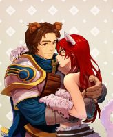 [Commission] Garen x Katarina by 2gold
