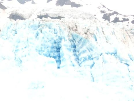Blue Ice at Meares by Kokopellinelli