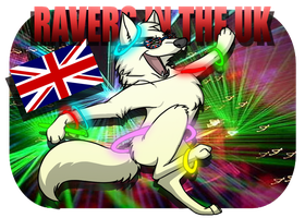 ~ Ravers in the UK ~ by Whitefang45