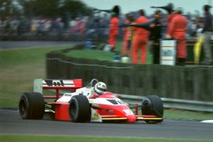 Christian Danner (Great Britain 1987) by F1-history