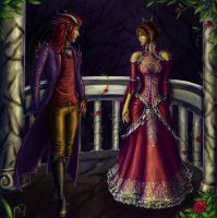 Coloring Contest: Beauty and the Beast by Kajiblade