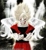 Super Goku - I see an angel by darkwood-studios